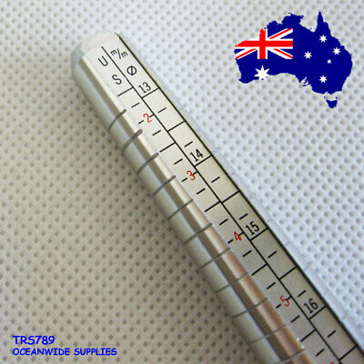 Ring SIZE Sizer Mandrel Stick Metal | BEST Value | AUSSIE Seller