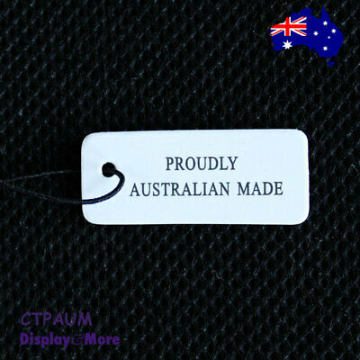 500 Paper Jewellery Price String Swing Tags-Proudly Australian Made | OZ Seller
