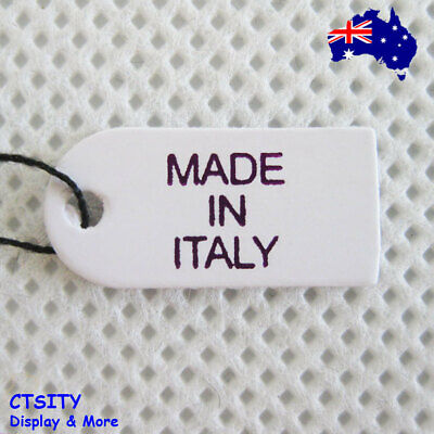 NEW 500 Paper Jewellery Price String Label Tag-Made in Italy | AUSSIE Seller