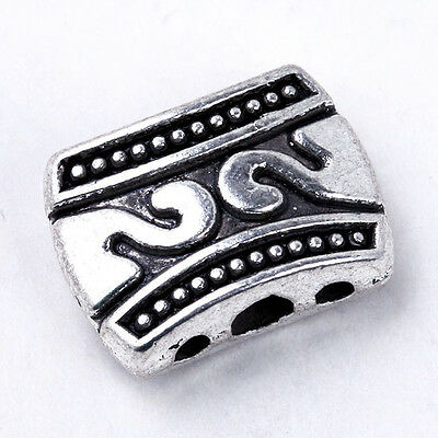 35 pcs Tibetan Silver Carved Spacer Beads Findings Fashion Jewellery Gift