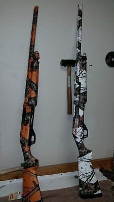 RIFLE Mossy Oak Camo Skin COVER KIT BLAZE ORANGE BREAK UP DEER HUNTING SNIPER