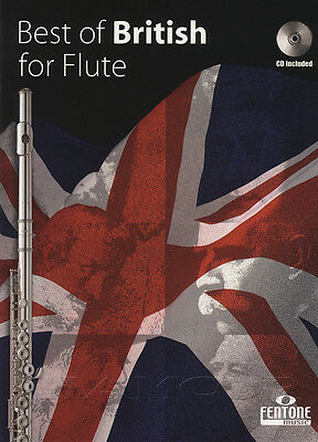 Best of British for Flute Play-Along Sheet Music Book with CD