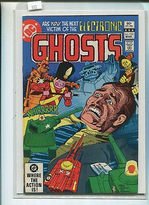 Ghosts  #110  Very Fine/Near Mint  Next Victim Of Electronic     DC Comics CBX5