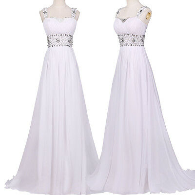 Women Cocktail Long Prom Party Bridesmaid Ball Gown Formal Evening Pageant Dress