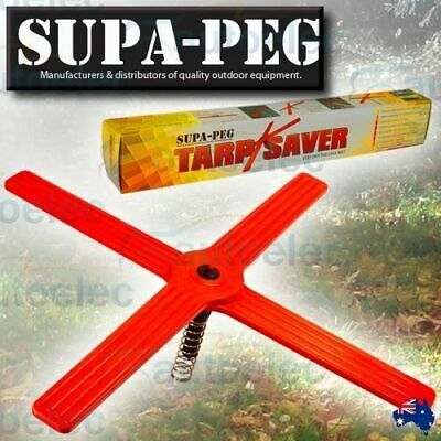 Supa Peg Anti Sagging Tarpsaver Support Tent Camping Annexe Saver New Foldaway