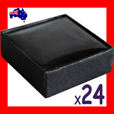 NEW 24X Brooch Stud Earring Jewellery Gift Box-5.5x5.5cm | AUSSIE Seller