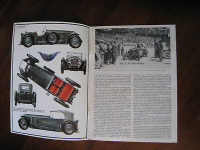 4.5 Litre S Type INVICTA 12 pg ill'd 1966 booklet Profile 19 FREE POST anywhere!