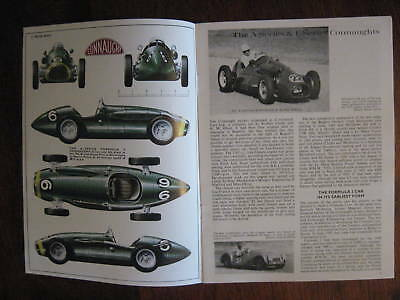 CONNAUGHT  A & L Series race cars booklet, Profile # 42