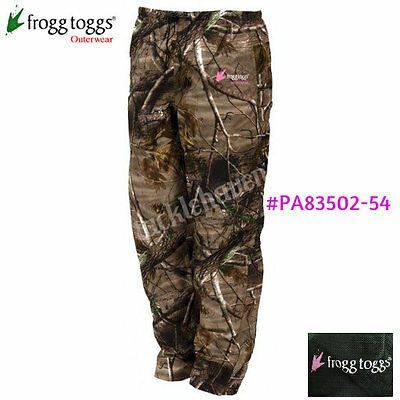 Frogg Toggs Women's Classic 50 Pro Action Rain Pant Realtree Extra CHOOSE SIZE!!