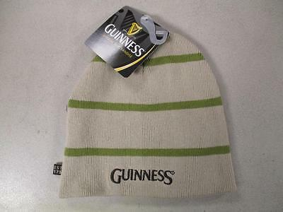 NEW GUINNESS Beer Adult One Size Fits Most Reversible Beanie