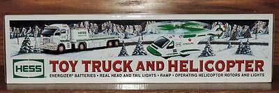 Nm 2006 Hess Diecast Toy Truck And Helicopter