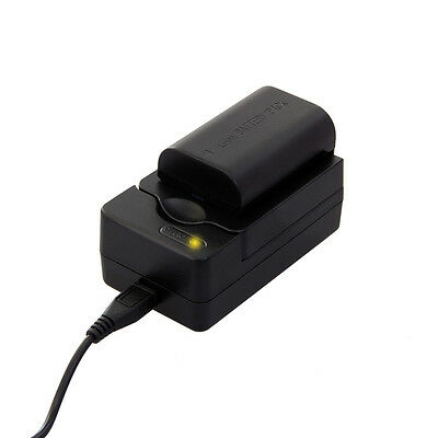 7dayshop USB Fast Battery Charger compatible with Canon LP-E6 Digital Camera Bat