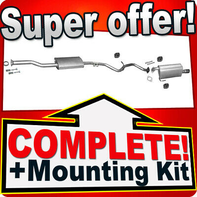 Subaru Legacy IV 2.0 Saloon Estate Since 09.2003 Silencer Exhaust System J32