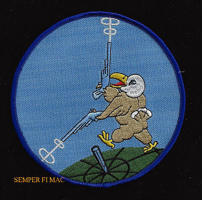186Th Fighter Squadron Hat Patch Us Air Force Montana Ang Pin Up Eagle Guns