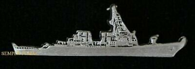 Uss Mitscher Ddg-57 Hat Pin Missile Destroyer Us Navy