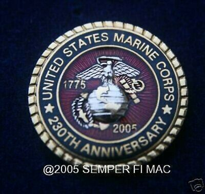 2005 US MARINE 230nd ANNIVERSARY PIN BIRTHDAY MARINES!