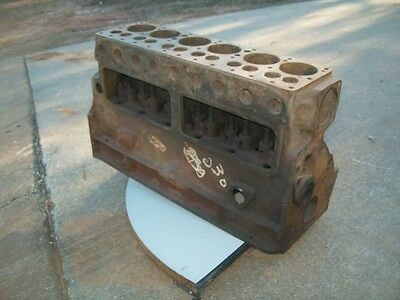 MoPar 1933 Chrysler CO Used Engine Block Core 6 cylinder
