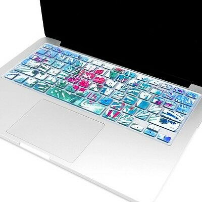 "Rhododendron Flowers Keyboard  Cover for Macbook Pro 13"" 15"" 17""/New Air 13"""
