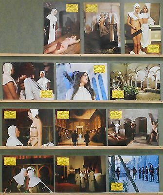 3WK39 LOVE LETTERS OF A PORTUGUESE NUN JESS FRANCO SEXY EROTIC Lobby Set Spain