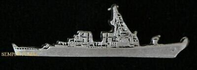 Uss Milius Ddg-69 Us Navy Hat Pin Destroyer