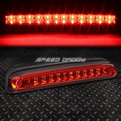 For 99-16 Ford Super Duty Red Led Third 3Rd Tail Brake Light Rear Stop Lamp