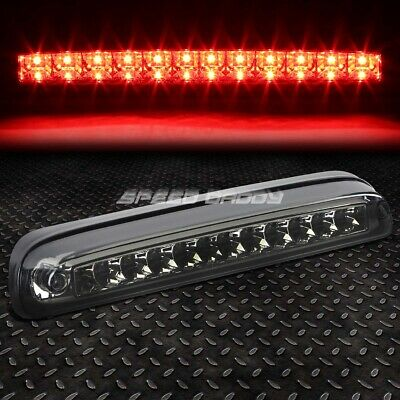 For 99-16 Ford Super Duty Smoked Led Third 3Rd Tail Brake Light Rear Stop Lamp
