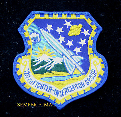 120Th Fighter Interceptor Group Patch Afb Us Air Force Pin Up Adc Montana Ang