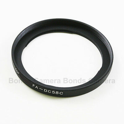 58mm 58 Camera Lens Filter Adapter Mount Ring for Canon PowerShot G1X FA-DC58C