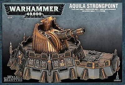 Warhammer 40,000 Scenery - Wall Of Martyrs - Aquila Strongpoint