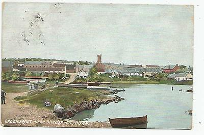 northern ireland postcard ulster irish co. down groomsport bangor