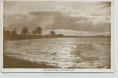 irish postcard ireland westmeath mullingar lough owel