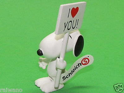 Schleich® Peanuts 22006 I love you ! Snoopy - Neuheit 2014