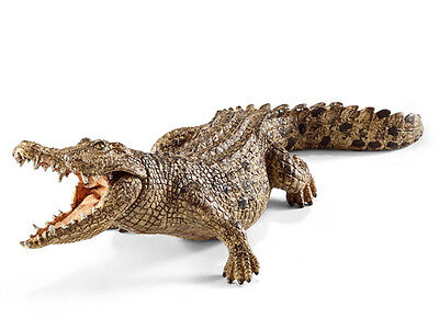 Schleich 14736 Crocodile Wild Reptile Animal Toy Figurine 2015 - NIP