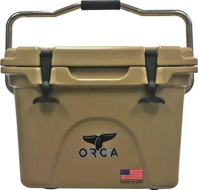 New Orca Orct020 Tan Colored 20 Quart Insulated Ice Chest Cooler Usa 5280052