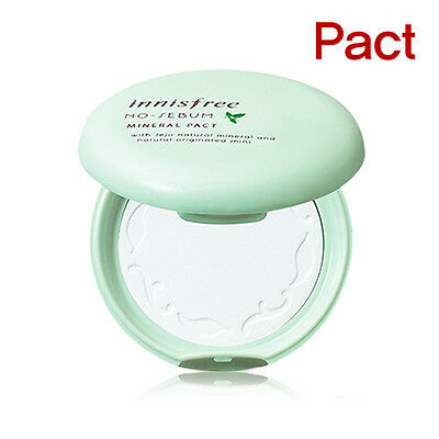 [INNISFREE] No Sebum Mineral Pact 8.5g / Korea cosmetic
