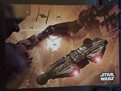 2015 Topps Star Wars The Force Awakens Concept Art #3 Jakku Pursuit