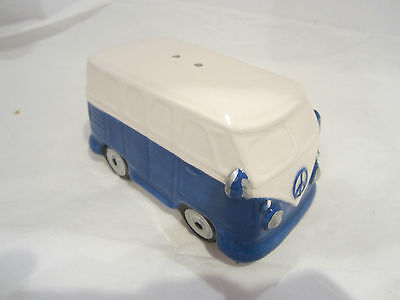 Ceramic Salt Cellar  VW Camper Van Volkswagen Leonardo Collection