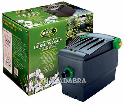 Blagdon Minipond 6000 Filter Uv Gravity 9W Uvc Pond Garden Fish Koi