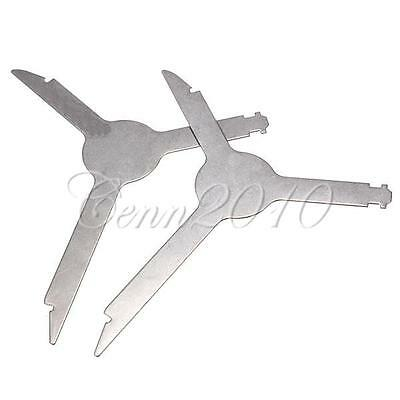 New Radio Removal install Tool Key Triangle For Audi A4~A8 Landrover golf VW