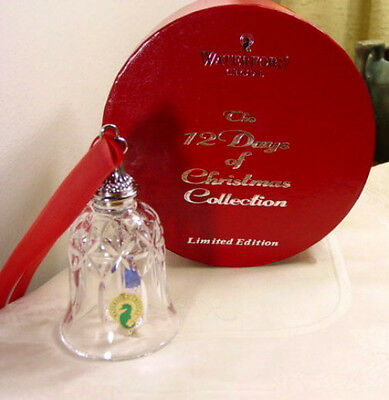 Waterford 12 Days of Christmas Bell, 6 Geese Laying NIB