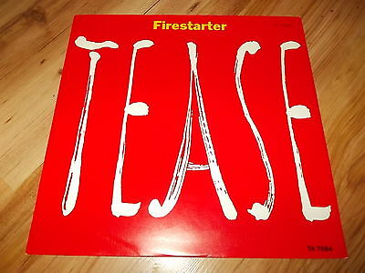 "Tease-Firestarter-1986 12"" single"