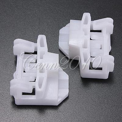 2pcs Window Regulator Repair Clips Front Right Passenger Side For Audi A4 96-01