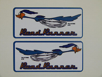 Aufkleber Oldschool Sticker Tuning Retro Autoaufkleber Auto Roadrunner USA
