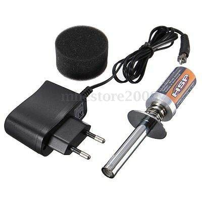 HSP RC Racing Rechargeable Glow Plug Igniter + Charger For Nitro Car Truck Buggy