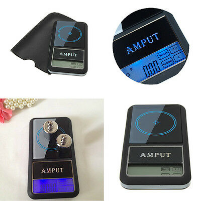 AMPUT 200g/ 0.01g Digital Jewelry Weight Electronic Pocket Scale Touch Screen