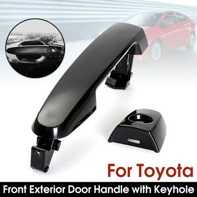 Front Left / Right Smooth Black ABS Exterior Door Handle For Toyota Camry 01-09