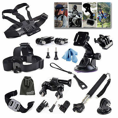 EEEKit Action Sports Camera Accessory Kit for GoPro Hero 5 4 Black Session 3+ 2