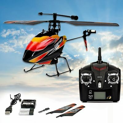 WLtoys V911 2.4G 4CH Single Blade GYRO Radio Remote Control RC Mini Helicopter