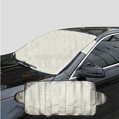 Car Windscreen Cover Heat Sun Shade Anti Snow Frost Ice Shield Dust Protector