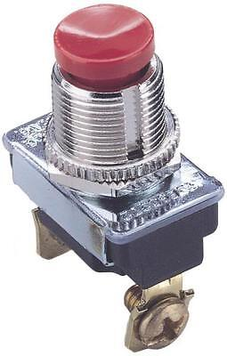 Gb Gardner Gsw-23 Red Normally On Single Pole & Throw Push Toggle Switch 6436778